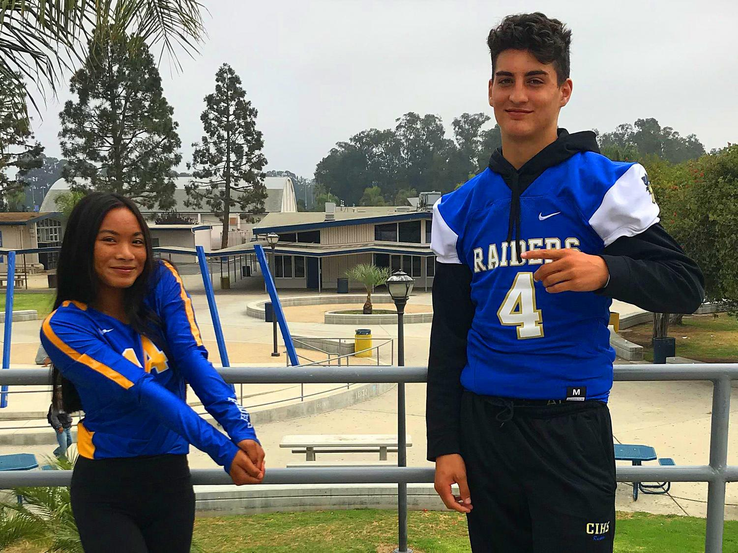 Aylani Madriaga and Cody Hoffman are part of the class of 2022.