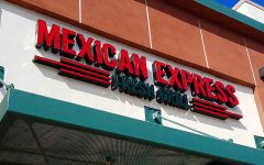 Mexican Express has lots of food