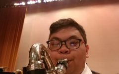 Joseph Wong with County Honor Band