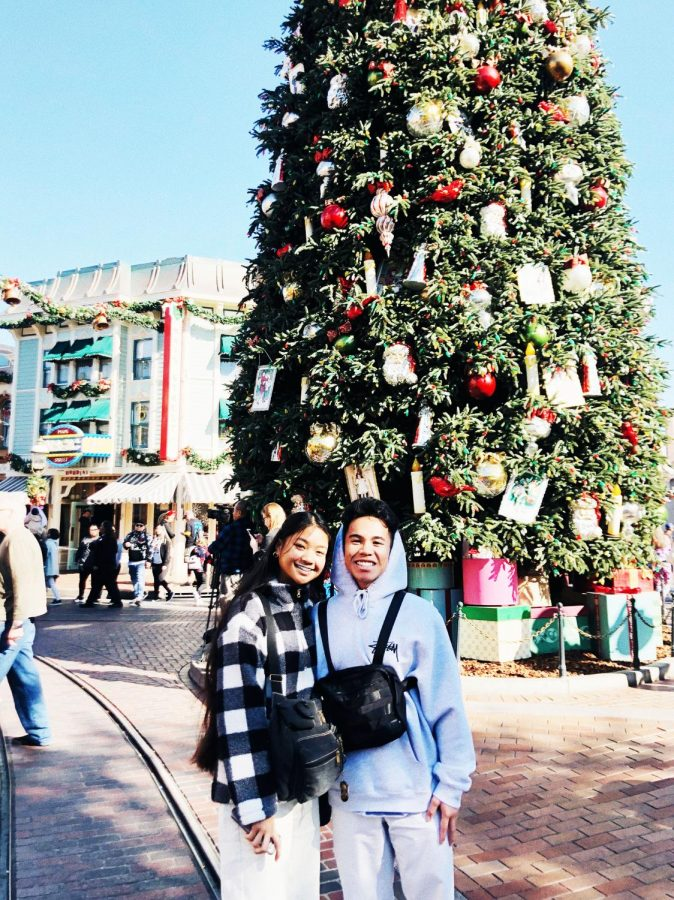 Ralph and Noelle spending their anniversary at Disneyland.
